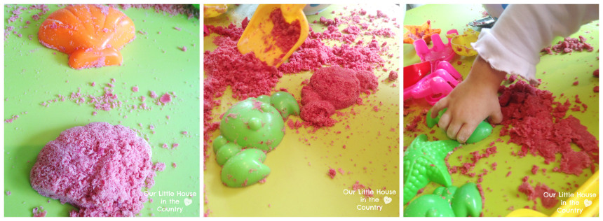 Fizzy Cloud Dough Learning Sensory Play