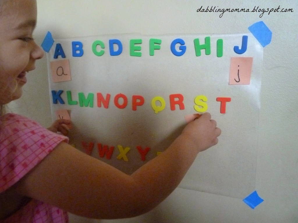 sticking on lowercase letters