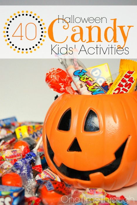 40 halloween candy kids activities - Halloween Candy Kids