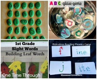 Alphabet Letter Pieces