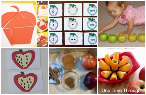 Apple Math and Science Activities