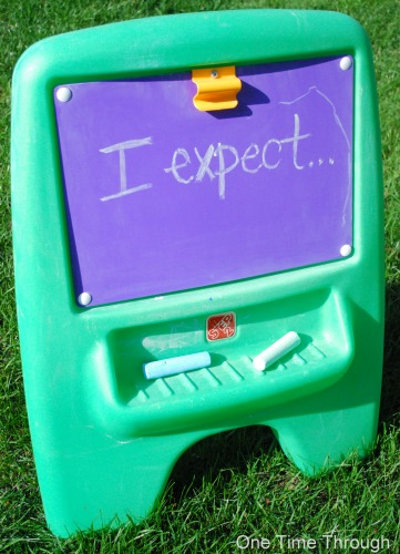 Expectations for Responsibility