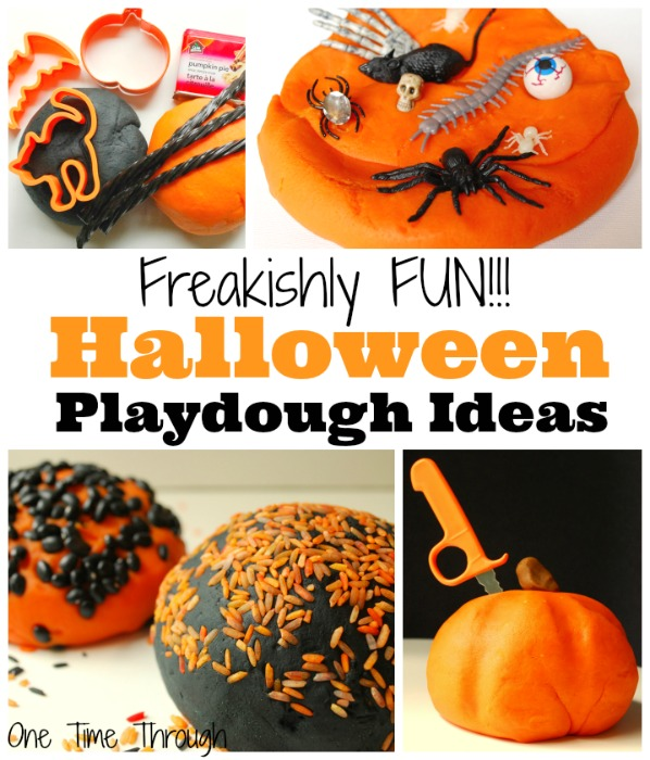 Freakishly Fun Halloween Playdough Ideas
