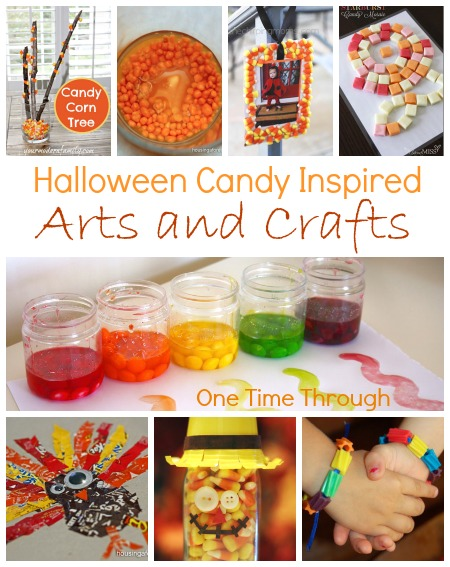 Halloween Candy Arts and Crafts