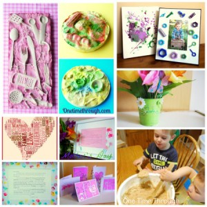 Kidmade Gifts for Grandparents Day - One Time Through