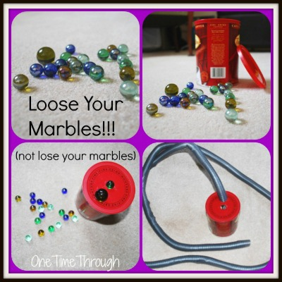 Loose Your Marbles Game
