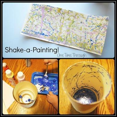 Shake a Painting Art