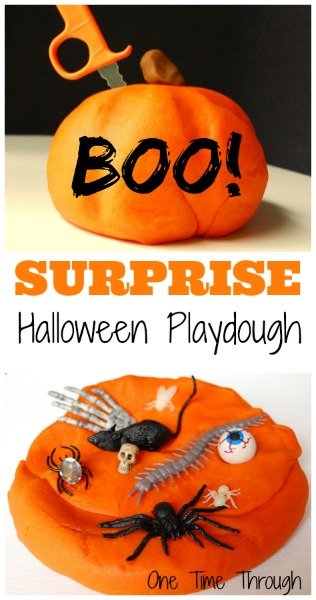 Surprise Halloween Playdough