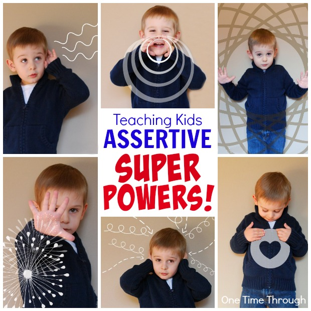 Teaching Kids About Their ASSERTIVE SUPER POWERS!