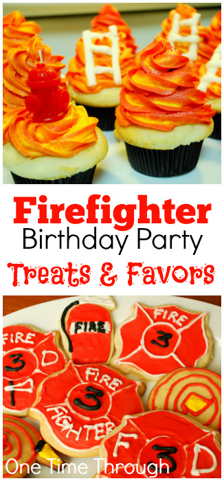 Firefighter Treats and Favors L- One Time Through
