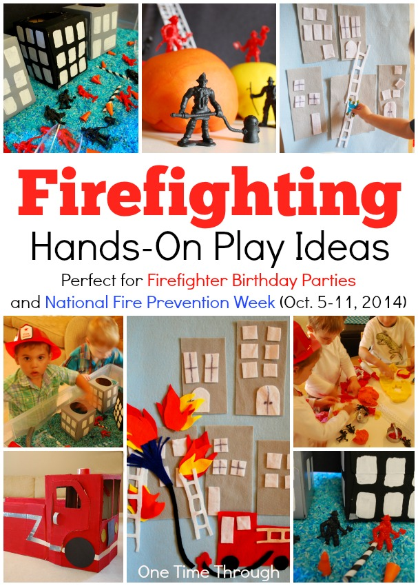 Firefighting Hands-On Play Ideas