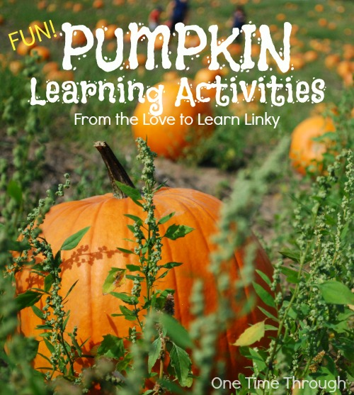 Fun Pumpkin Learning Activities
