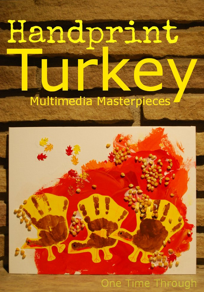 Handprint Turkey Multimedia Masterpieces