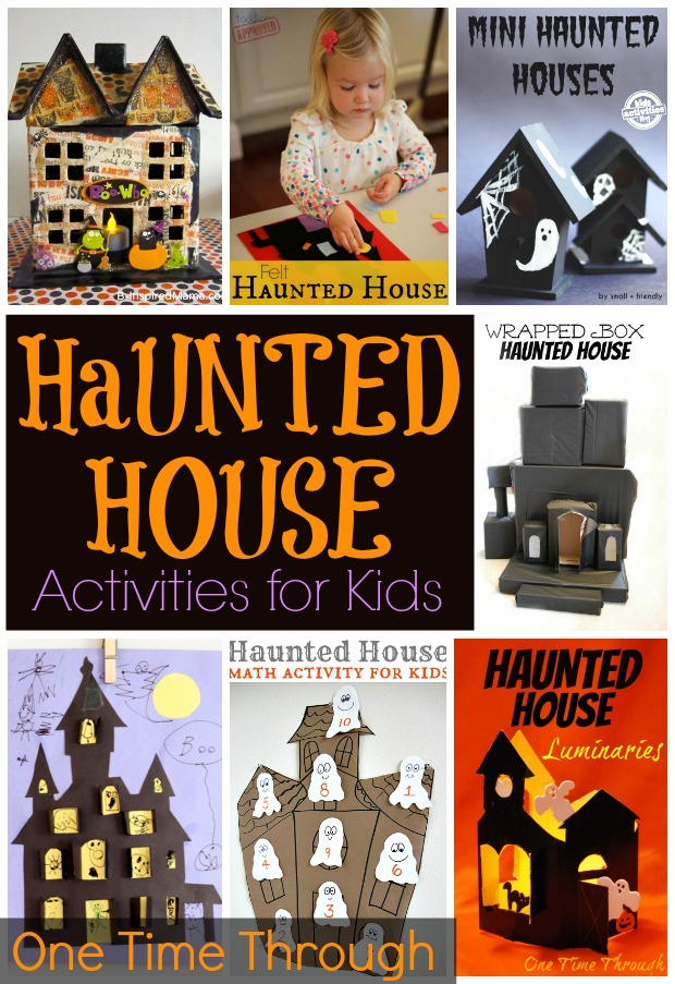Haunted House Activities for Kids