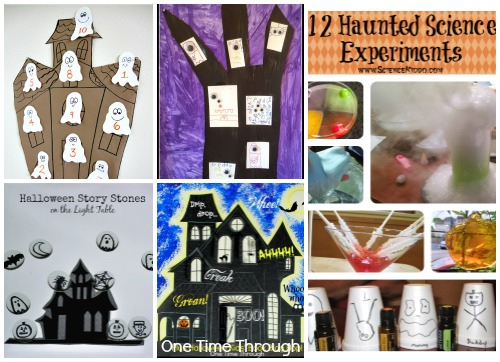 Haunted House Learning Activities for Kids