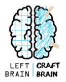 Left Brain Craft Brain Button