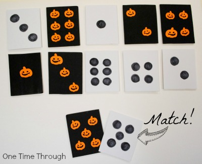 Matching Dots and Shapes