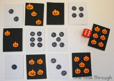 Matching Dots on Die to Shapes