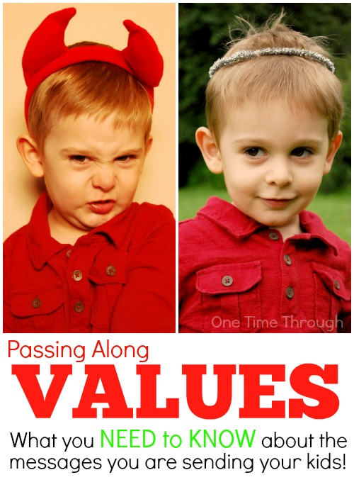 Passing Along Values: Reflecting on the Messes We send to our kids