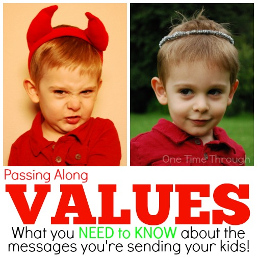 Passing Along Values