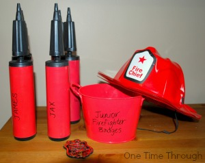 Pretend Play Fire Fighters