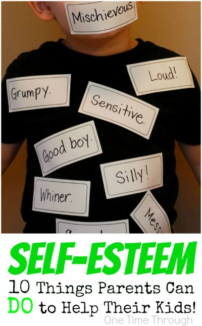 Self-Esteem Ways Parents Can Help