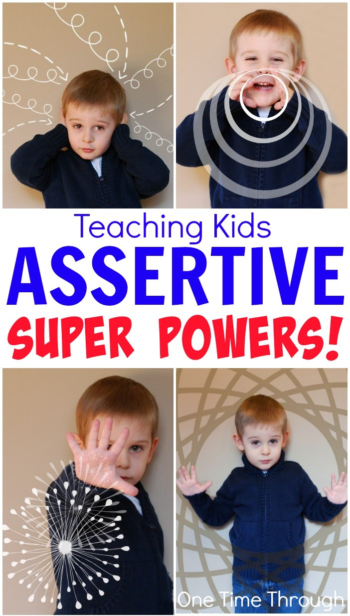 Teaching Kids Assertive Super Powers