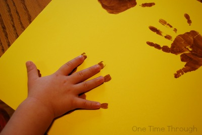 Turkey Hand Prints