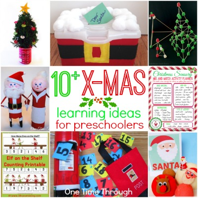 10+ Christmas Learning Ideas for Kids