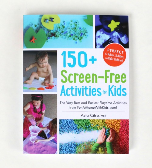 150+ Screen Free Activities Book Cover
