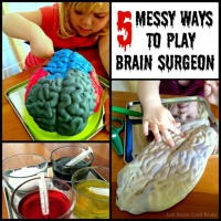 5 Messy Ways to Play Brain Surgeon