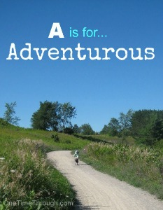 A is for Happy Adventures