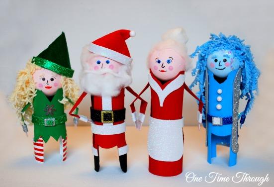 Christmas Characters Group Shot