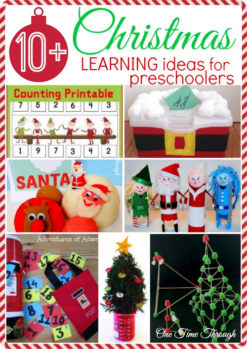 Christmas Learning Ideas for Preschoolers
