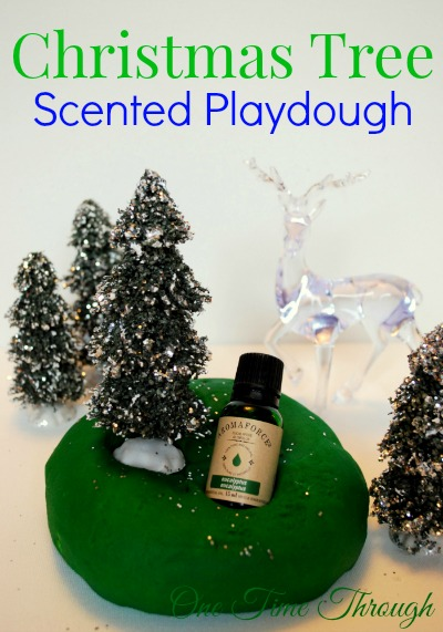 Christmas Tree Scented Playdough