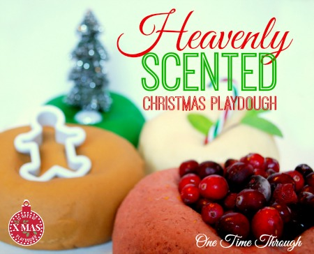 Heavenly Scented Christmas Playdough Recipes