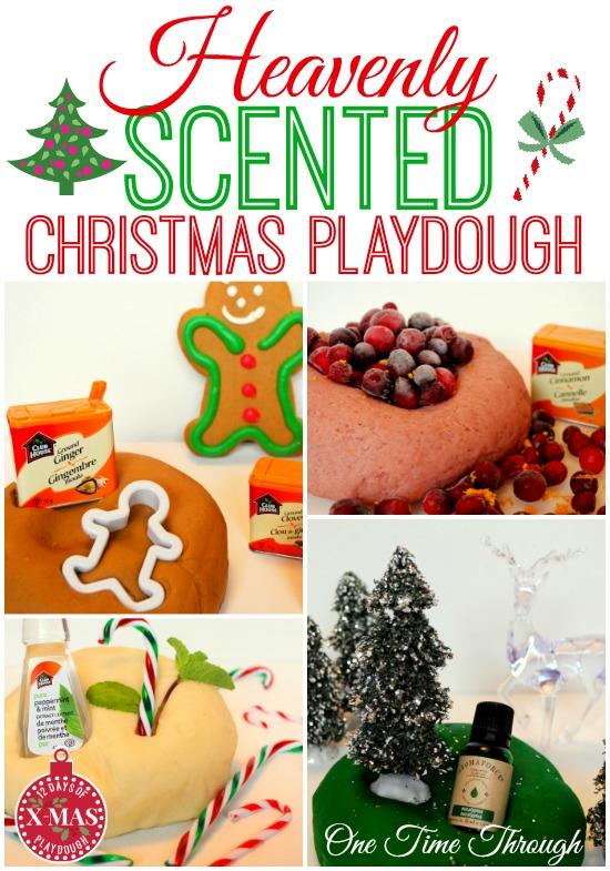 Heavenly Scented Christmas Playdough Recipes