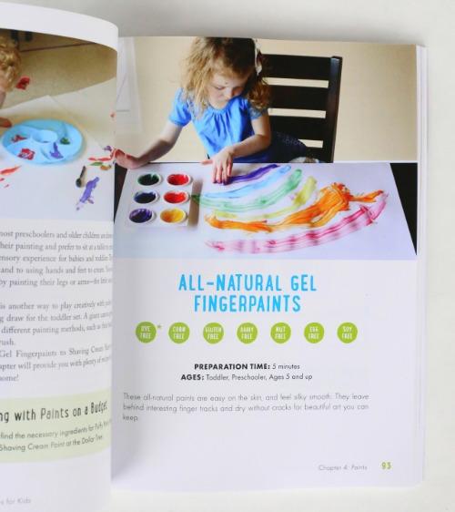 Inside of 150+ Screen-Free Activities Book