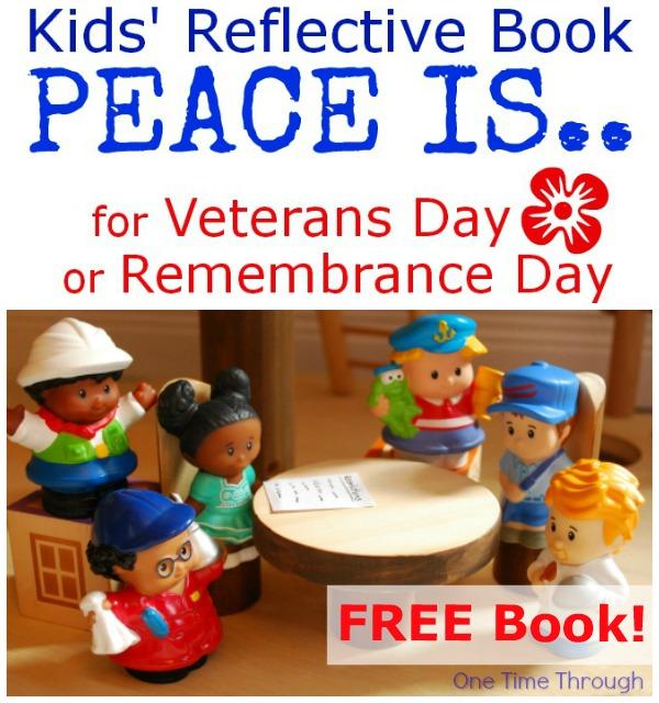 Kids' Reflective Peace Book