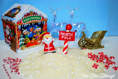 North Pole Small World Set Up