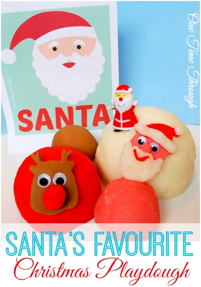 Santa's Favourite Christmas Playdough
