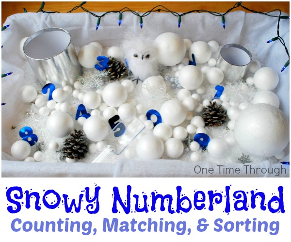 Snowy Numberland
