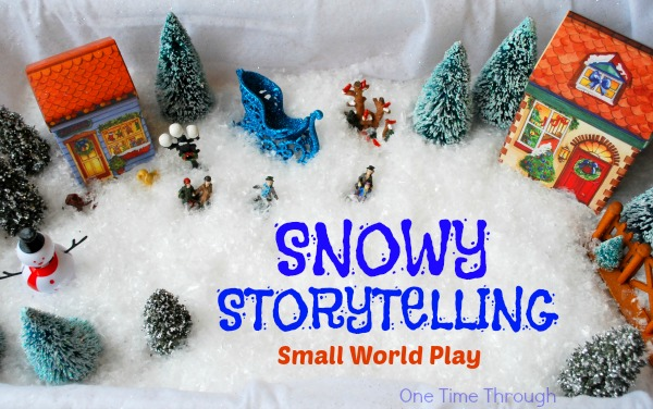 Snowy Storytelling Small World Play