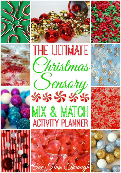 The Ultimate Christmas Sensory Mix and Match Activity Planner