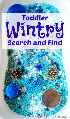 Toddler Wintry Search and Find