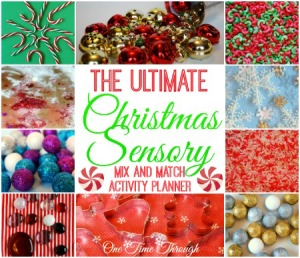 Ultimate Christmas Sensory Mix and Match Activity Planner