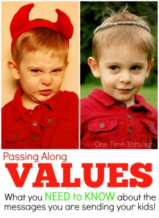 V is for Values