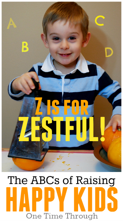 Z is for Zestful