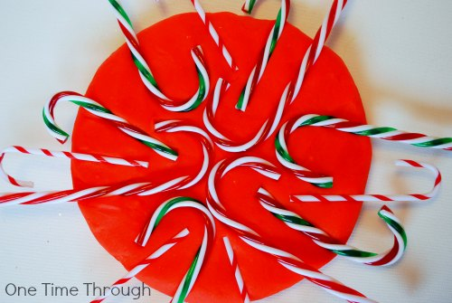 Candy Cane Playdough