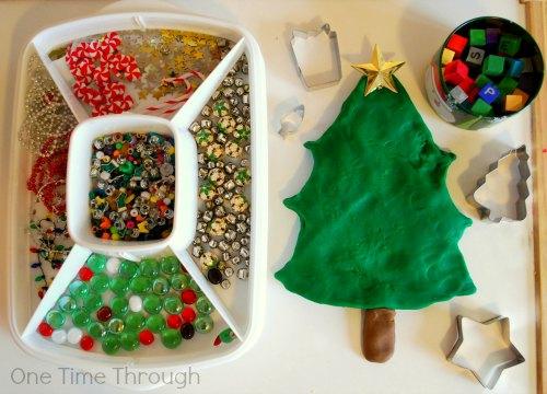 Christmas Tree Playdough Presentation